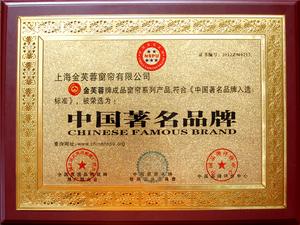 中国著名品牌-奖牌